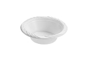 Plastic Bowls - White - 12 oz. - 100 Count