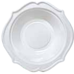 Plastic Bowl - Festive - White - 12 oz.