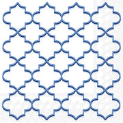 Lunch Napkin - Moroccan Trellis Admiral- 20 Count