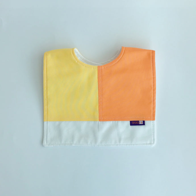 Haklapp  Bib  Orange/Lemon 1 bib