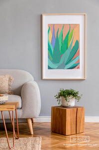 Wall Art | Agave Tapestry