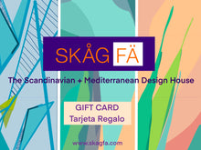 Load image into Gallery viewer, SKAGFA Gift Cards Tarjetas Regalo 10-100
