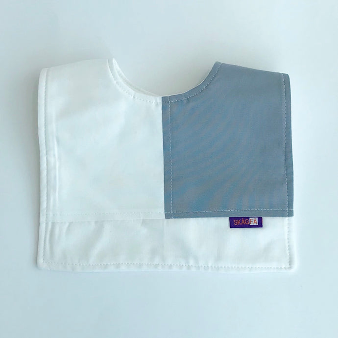 Haklapp  Bib  White/Grey