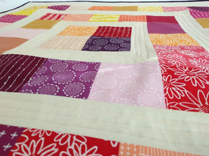 Pretty in Pink,  Quilted playmat