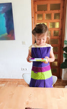 Charger l'image dans la galerie, Scandinavian design for kids  Mediterranean design for kids  Waldorf Design  Montessori Design for kids  Concept Store Scandinavian design,  Apron for kids,  Delantal para niños de diseño