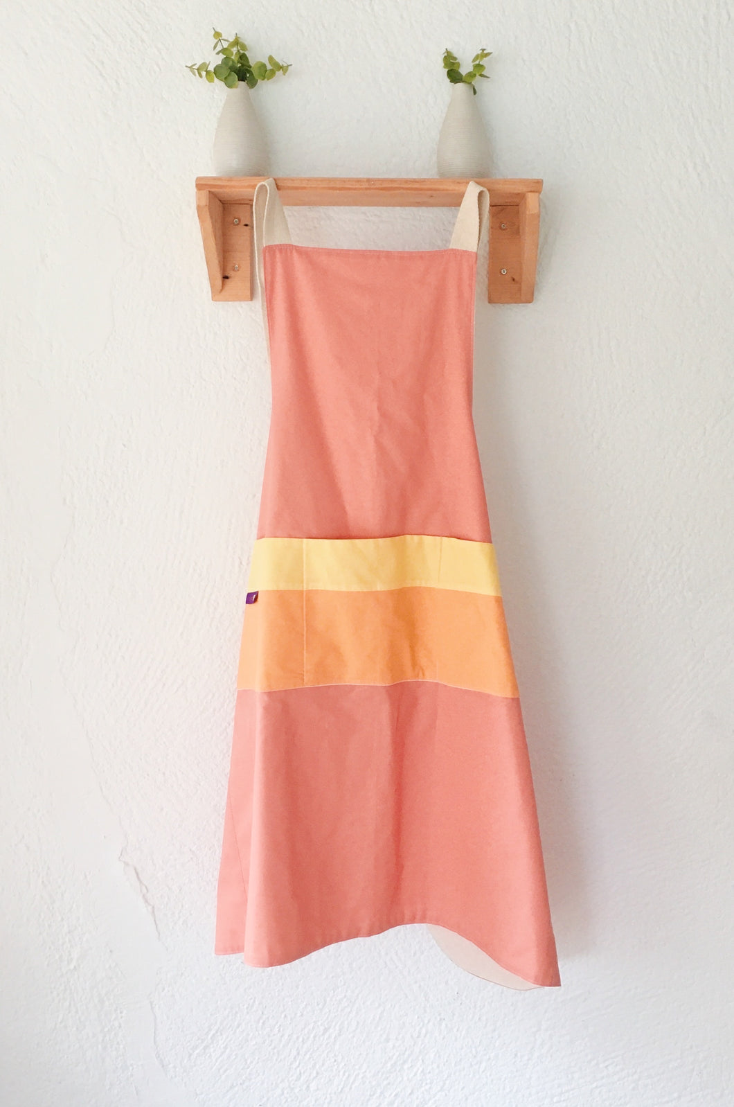 Apron Scandinavian design citrus Crossback