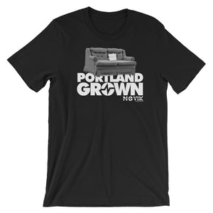 Portland Grown Couch Crisis: Short-Sleeve Unisex T-Shirt