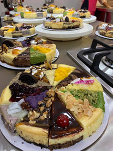 Cheesecake Sampler Workshop with Chef Robert De Armas 04062019