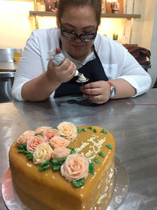 Salted Caramel Cake Class with Chef Bam Piencenaves (062919)