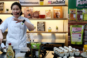 Bakersfield Back to Baking Demo with Chef Kazzie Sy