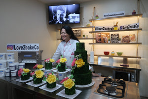 Beginner's Sugar Flower Workshop with Chef Joanna Peñaloza Romero