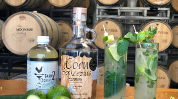St. Patrick's Day Mojito with a Twist!