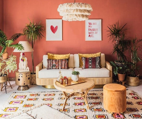 TERRACOTTA LIVING ROOM