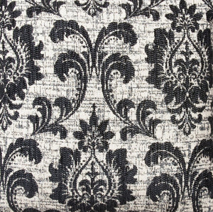 Μαξιλαροθήκη Barroco 40x40 Black - Loom To Room (3421979803714)