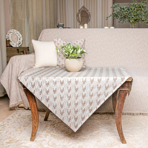 ΚΑΡΕ AGNES 85X85 BEIGE - Loom To Room