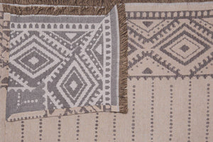 Ριχτάρι Alexandra 180x180 Beige - Loom To Room