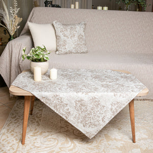 ΚΑΡΕ ANEMONI 85X85 BEIGE - Loom To Room