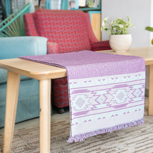RUNNER ELPIDA 45X180 PURPLE - Loom To Room