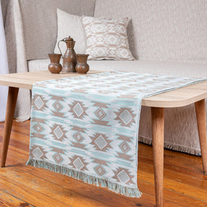 RUNNER HARMONIA 45X180 AQUA - Loom To Room