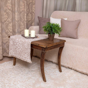Τραβέρσα Lilly 45x180 Beige - Loom To Room