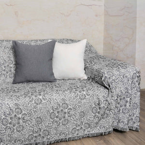 Ριχτάρι Lilly 180x180 Black & White - Loom To Room (4688271999042)