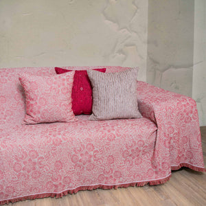 Ριχτάρι Lilly 180x180 Bordeaux - Loom To Room (4688272031810)