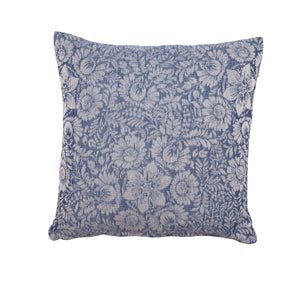Μαξιλαροθήκη Lilly 40x40 Dark Blue - Loom To Room (4688269312066)