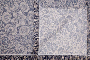 Καρέ Lilly 85x85 Dark Blue - Loom To Room (4688267903042)