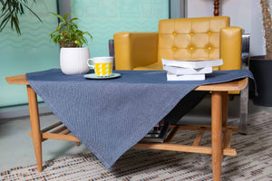 Καρέ Regalo 85x85 Dark Blue - Loom To Room