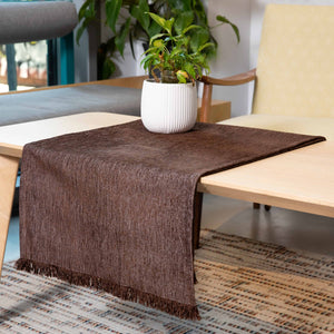 Τραβέρσα Sencilla 45x180 Dark Brown - Loom To Room (4688266854466)