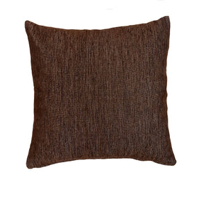 Μαξιλαροθήκη Sencilla 40x40 Dark Brown - Loom To Room (4688269606978)