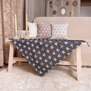 Καρέ Starlight 85x85 Black - Loom To Room (4688268853314)