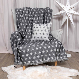 Ριχτάρι Starlight 180x300 Black - Loom To Room (4688274063426)