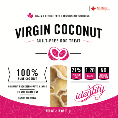 Virgin Coconut | 100% Pure, Guilt-Free Air-Dried Virgin Coconut Dog Treats