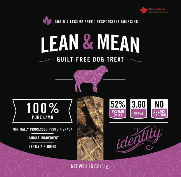 Lean & Mean | 100% Pure, Guilt-Free Air-Dried Lamb Lung Dog Treats
