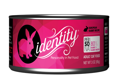Persona Free-Range European Rabbit Wet Cat Food