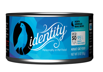 Persona Free-Range North American Quail Wet Cat Food