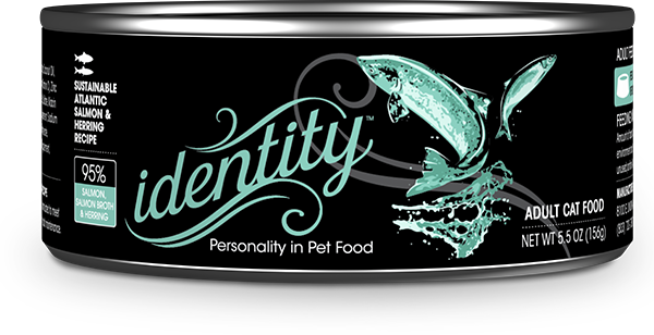 95% Sustainable Atlantic Salmon & Herring Wet Cat Food