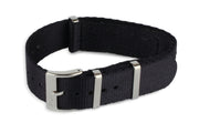 Premium Nato Watch Strap - Black - Strap City
