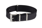 Premium Slim Nato Watch Strap - Black - Strap City