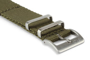 Premium Nato Watch Strap - Army Green.