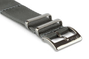 Premium Slim Nato Watch Strap - Silver Grey - Strap City