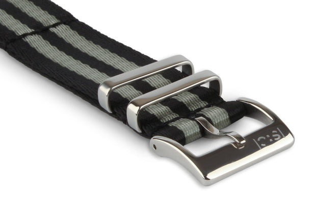 Premium Slim Nato Watch Strap - Bond.