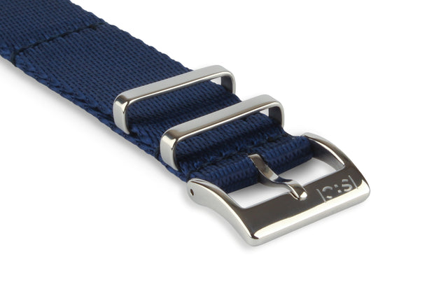 Premium Nato Watch Strap - Saphire Blue - Strap City