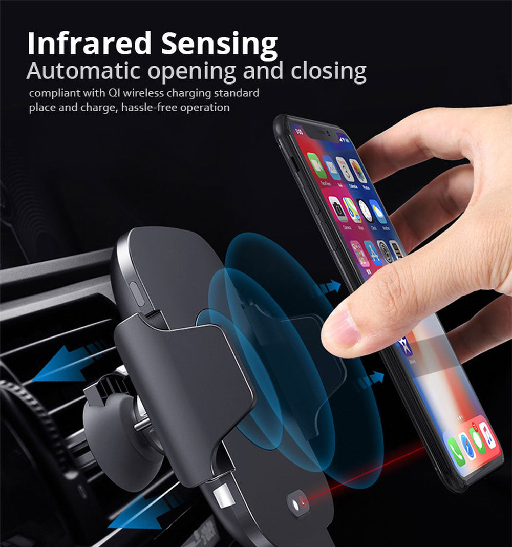 Qi Wireless Fast Charging Phone Holder