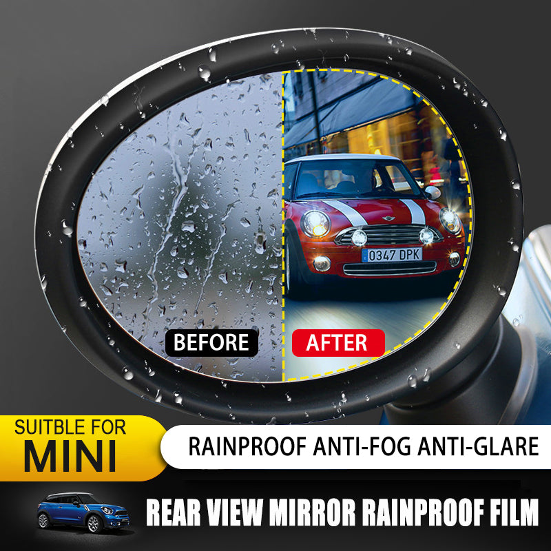 Rearview Mirror Rainproof Film for Mini