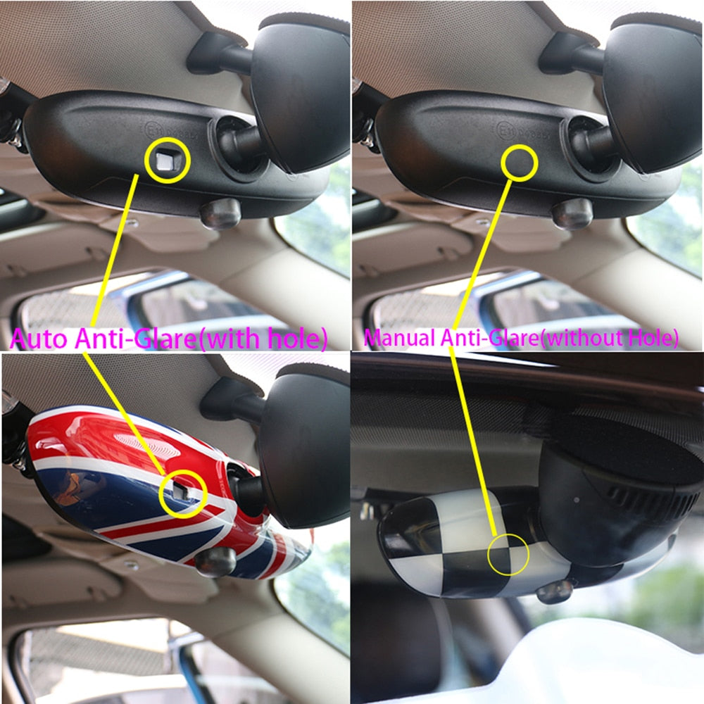 Interior Rear View Mirror Cover For MINI