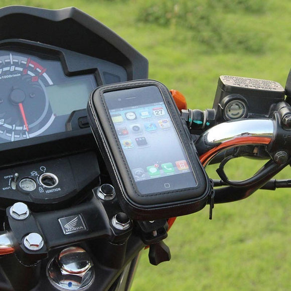 Motorcycle Hard Case Phone Holder