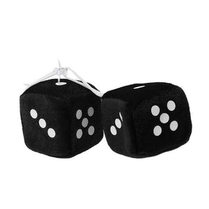 Stand out in OLD SCHOOL Fashion with the FUZZY DICE!