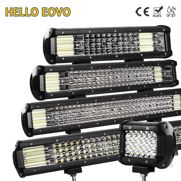 LED Light Bar 4 - 36 Inch